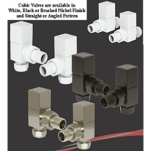 Cubic Radiator Valves