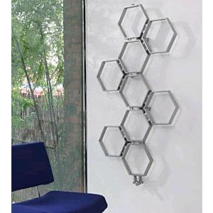 Aeon Honeycomb Stainless Steel Designer Radiators