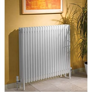 Apollo Roma 2 Column Radiators With Feet In Ral Colours And Special Finishes
