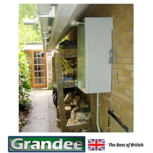 Oil External Wall Mounted Condensing Combi Boilers