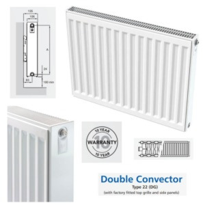 Inspired Compact Double Convector Radiators