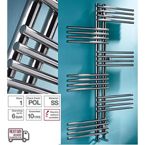 MHS Fingers Stainless Steel Towel Rail