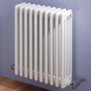 MHS Multisec White 4 Column Radiators