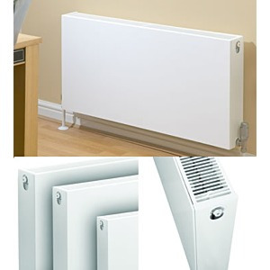 Quinn Compla White Radiators