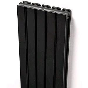 Ultraheat Linear Vertical Black Designer Radiators