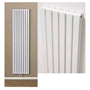 Ultraheat Linear Vertical White Designer Radiators