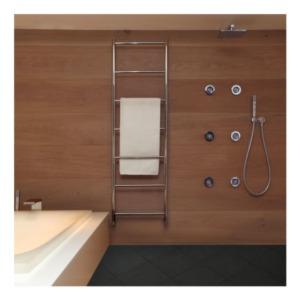 Vogue UK Polished Stainless Steel Towel Rails