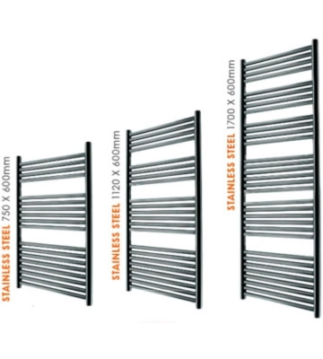 Abacus Linea Stainless Steel Towel Rails