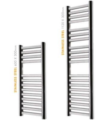 Abacus Micro Linea Stainless Steel Slimline Towel Warmers