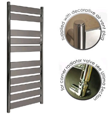 Abacus Plana Anthracite Towel Rails