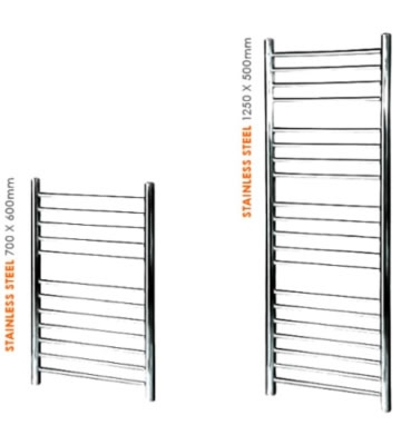 Abacus Profile Stainless Steel Towel Rails