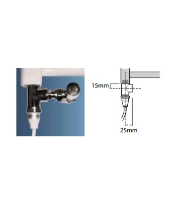 Abacus Standard Element for Dual Fuel Installation Option