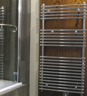 Abacus Strato Chrome Towel Rails