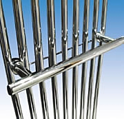Abacus Tiempo Chrome 590mm Towel Hanger