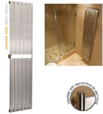 Abacus Viento Stainless Steel Radiators