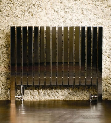 Aeon Arat L Wall and Floor Mounted Stainless Steel Radiators