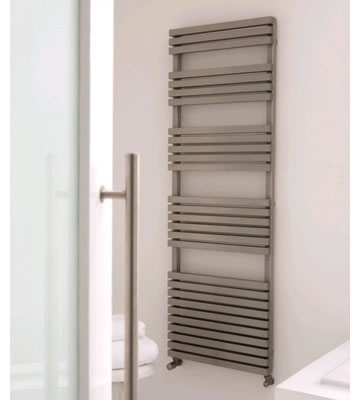 Aeon Atilla Brushed Matt Stainless Steel Towel Rails