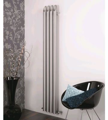 Aeon Bamboo Wall Stainless Steel Radiators