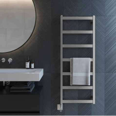 Aeon Calder Fully Electric Stainless Steel Towel Radiators