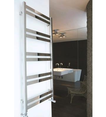 Aeon Cat Ladder Brushed Matt Stainless Steel Towel Rails
