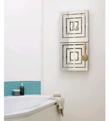 Aeon Coffer Brushed Stainless Steel Towel Radiator