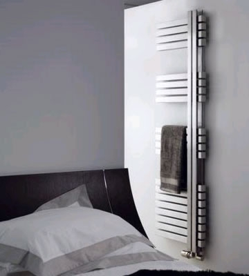 Aeon Combe Brushed Stainless Steel Towel Rails