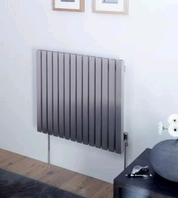 Aeon Dalya E Brushed Stainless Steel Radiator
