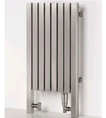 Aeon Dalya LT Brushed Stainless Steel Radiator