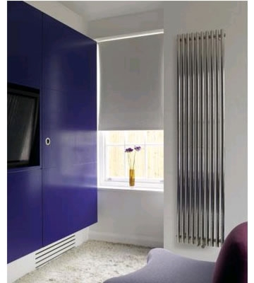 Aeon Imza Brushed Stainless Steel Radiator