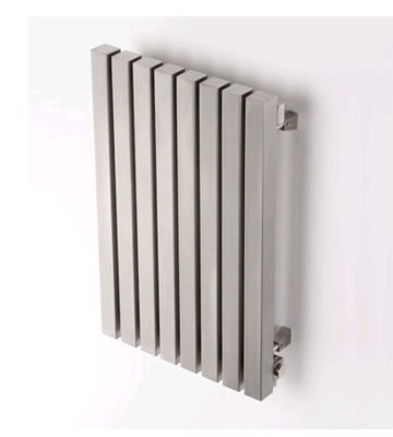 Aeon Kare E Brushed Stainless Steel Radiator