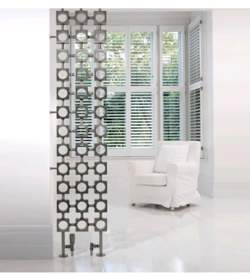 Aeon Lokum Brushed Stainless Steel Radiator