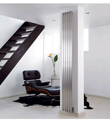 Aeon Lunar 1500mm Brushed Stainless Steel Radiators