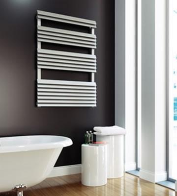 Aeon Panacea Bath Brushed Stainless Steel Towel Rails