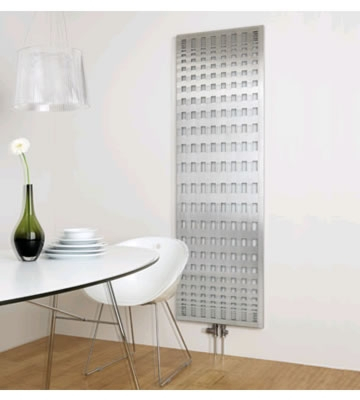 Aeon Rende Brushed Stainless Steel Designer Radiator
