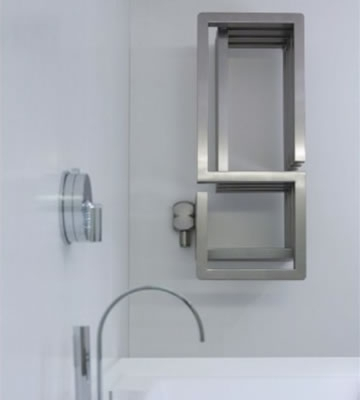 Aeon S-Type Stainless Steel Towel Rails