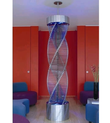 Aeon Speira Brushed Stainless Steel Radiator