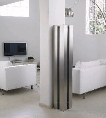 Aeon Stanza Brushed Stainless Steel Radiator