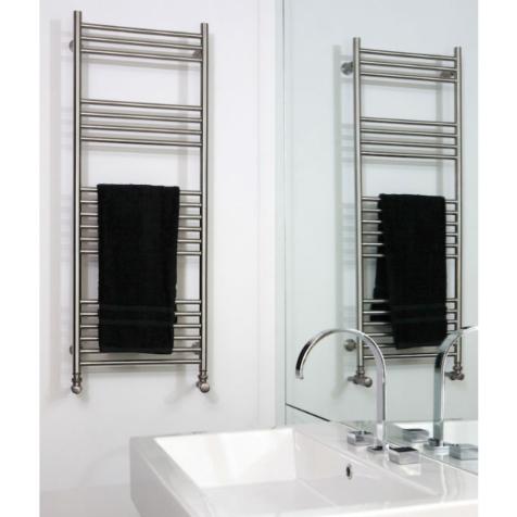 Aeon Tora Brushed Matt Stainless Steel Towel Rails