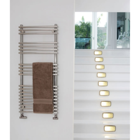 Aeon Windsor Brushed Stainless Steel Towel Rails