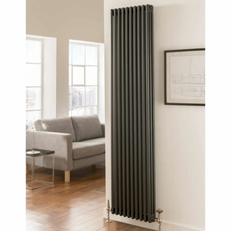 TRC Ancona 2 Column 1800mm High Radiators - Stock in White