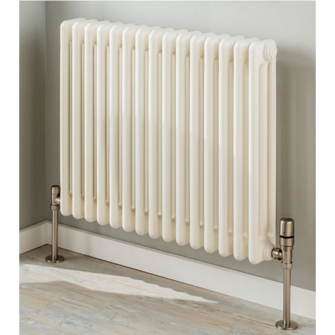 TRC Ancona Made to Order 3 Column 600mm High White Radiators