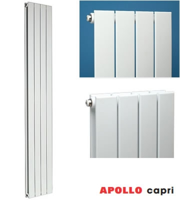 Apollo Capri Single Radiators in Standard Colours