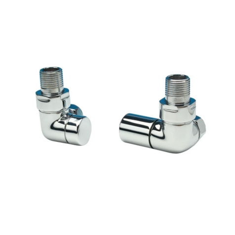 Apollo Chrome 15mm Corner Valve Set