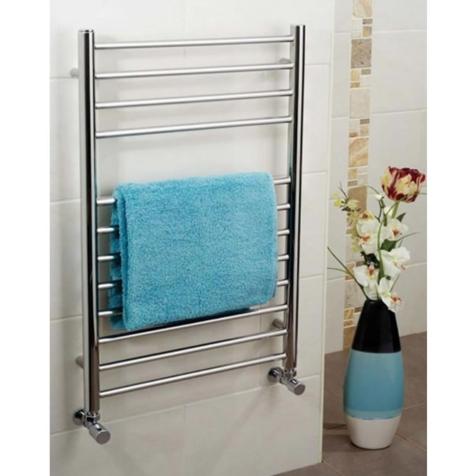 Apollo Garda Polished Stainless Steel Towel Rails