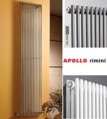 Apollo Rimini White Single Radiators