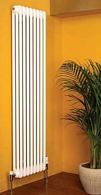 Apollo Roma Vertical 2 Column 2000mm High Radiators in Colours