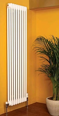 Apollo Roma Vertical 3 Column 2000mm High Radiators in Colours