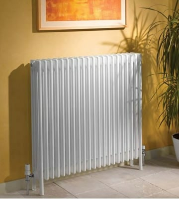 Apollo Roma 6 Column With Feet 600mm High Radiators in Colours