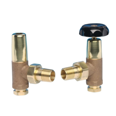 Apollo Traditional Style Brass RoundHead Valve Set