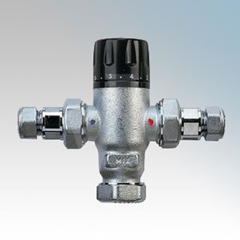 Zip Thermostatic Blending Valve complete with Two Check Valves